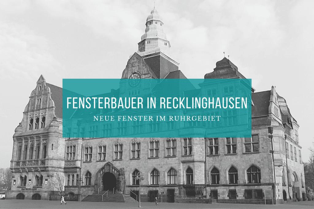 Fensterbauer Recklinghausen
